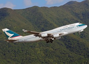 Cathay Pacific Flight
