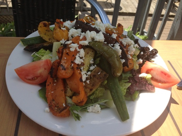 Grilled Vegetable Salad with Goat Cheese