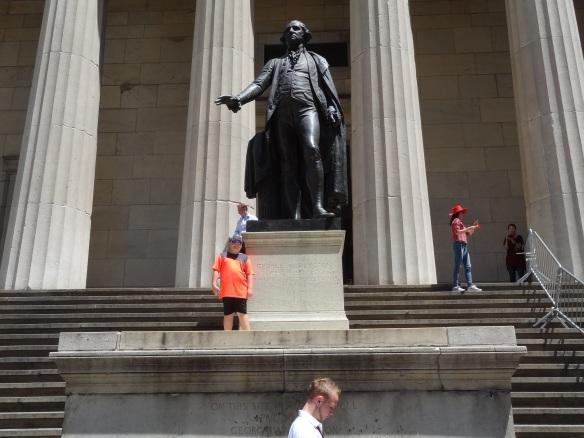 Ben and George Washington