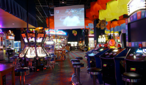 Inside Dave and Busters