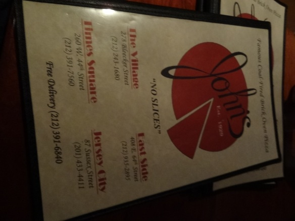 John's Pizza, a slice of heaven on Broadway