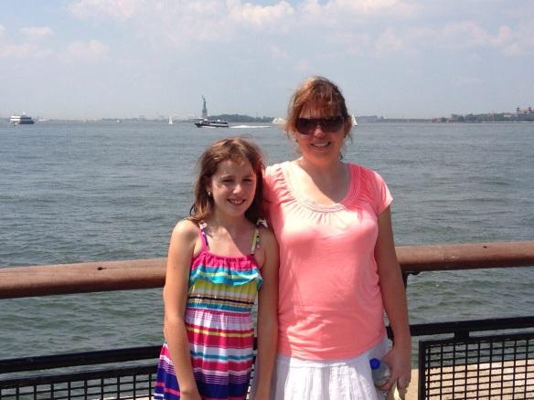 Lady Liberty on her Island