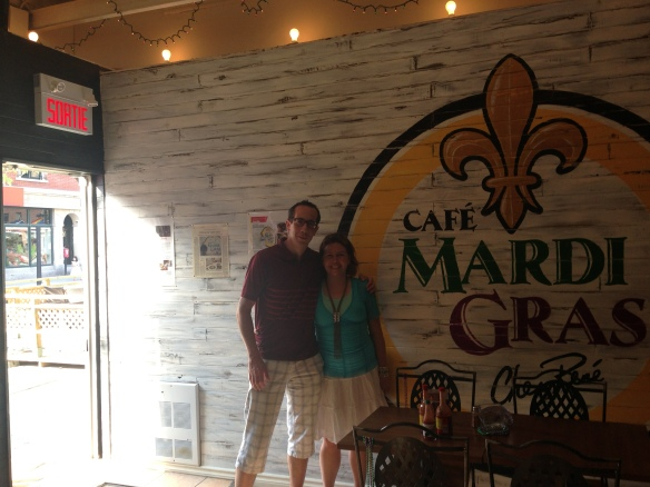 Café Mardi Gras, a little slice of New-Orleans directly in Montreal