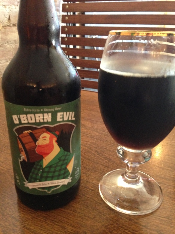 O'born Evil, Strong and manly beer